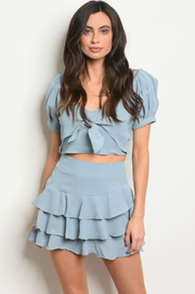 Brisk Taker Skirt Light Blue - Shellsea