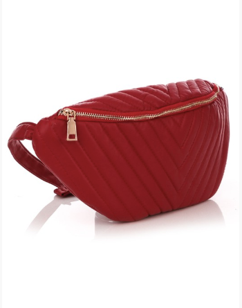 Soft & Sewn Fanny Pack Red - Shellsea