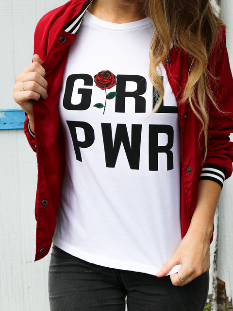 Girl Power Graphic Tee - Shellsea