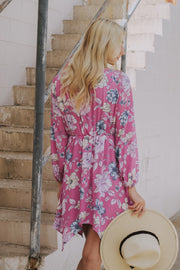 About To Blossom Floral Dress Pink - Shellsea