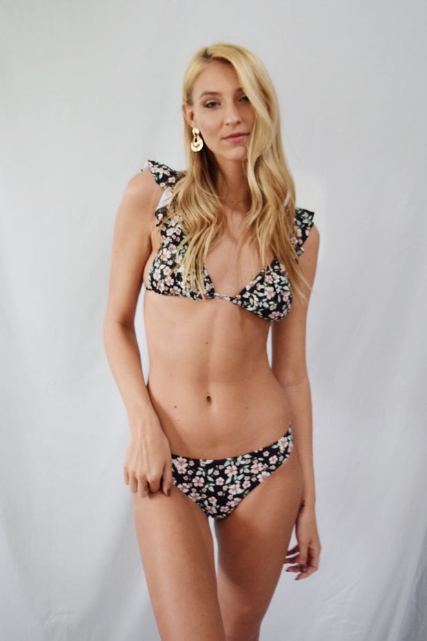 Beach Front Floral Bathing Suit Top - Shellsea