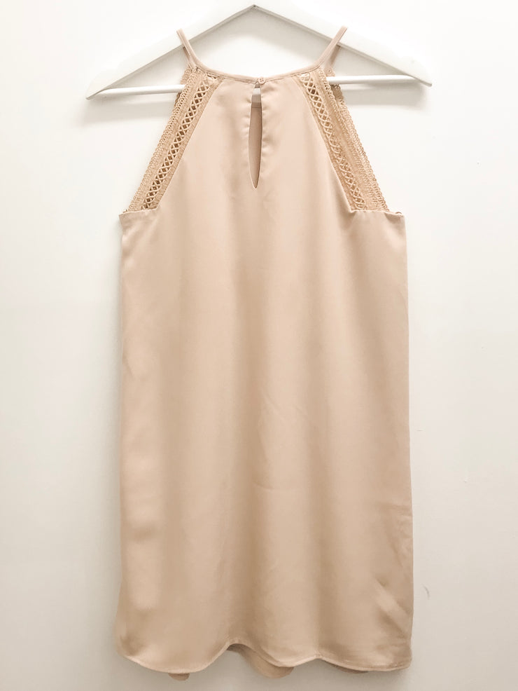 Come To Life Nude Dress - Shellsea