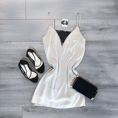 Waking Up In Vegas Slip Dress