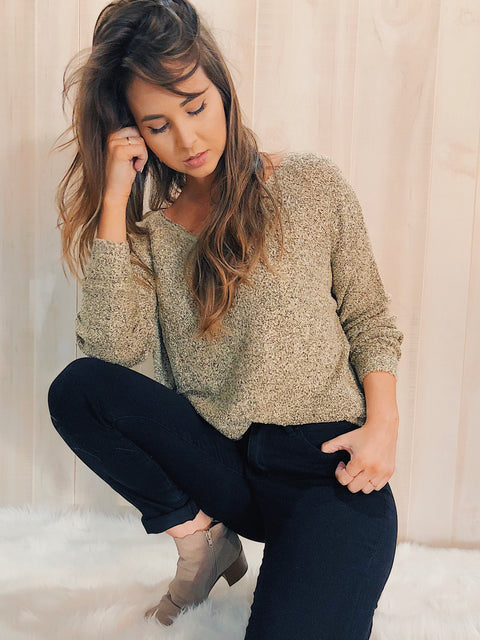 The Chelsea Sweater Oatmeal