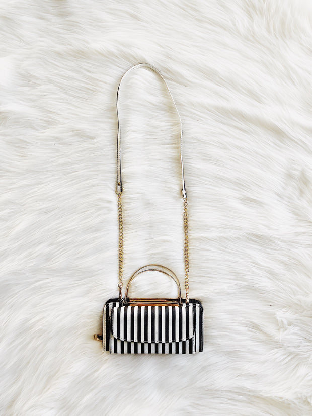 Make A Statement Striped Bag - Shellsea