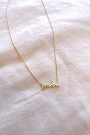 Babe Pendant Necklace