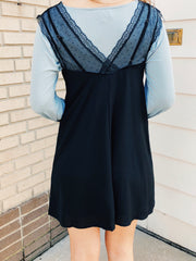 Little Lace Dress Black - Shellsea