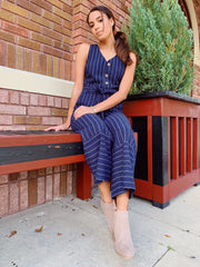 Dockside Jumpsuit Navy - Shellsea