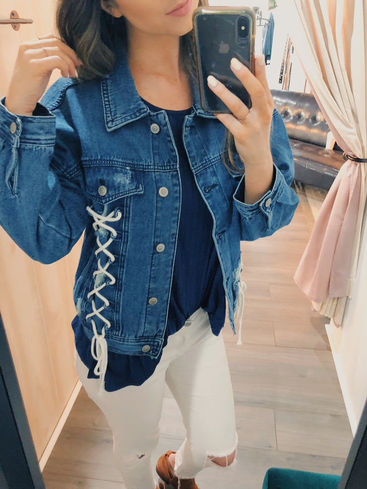 Outdoors Action Denim Jacket