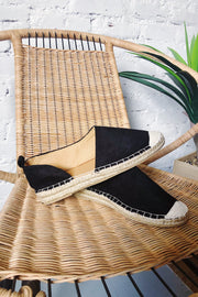 Stylish Sidekick Flats Black