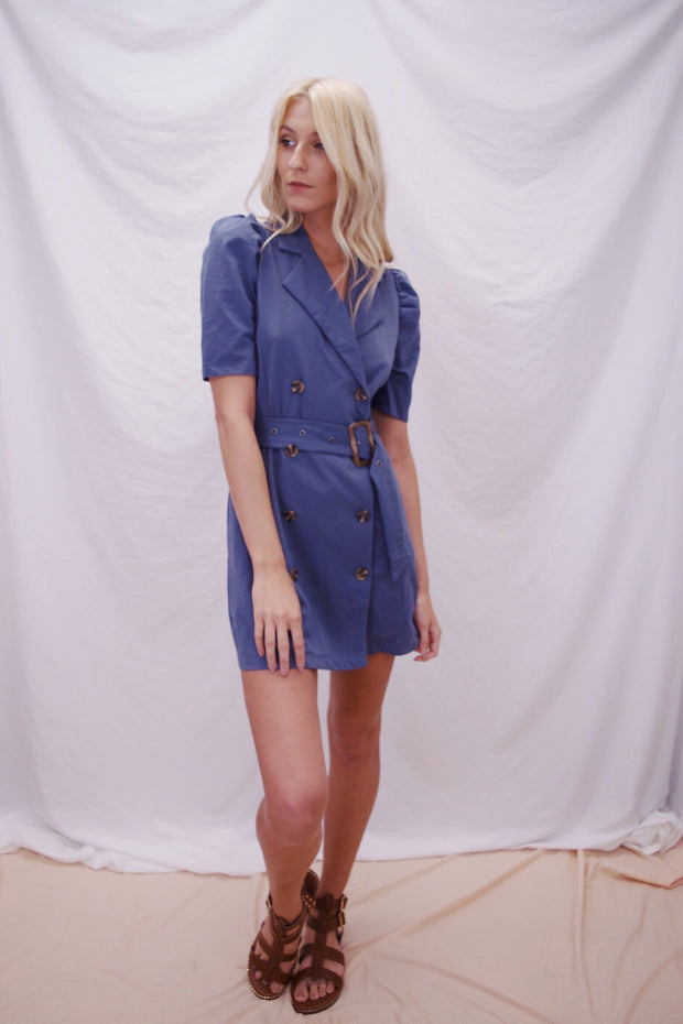 Well Suited Dress Navy