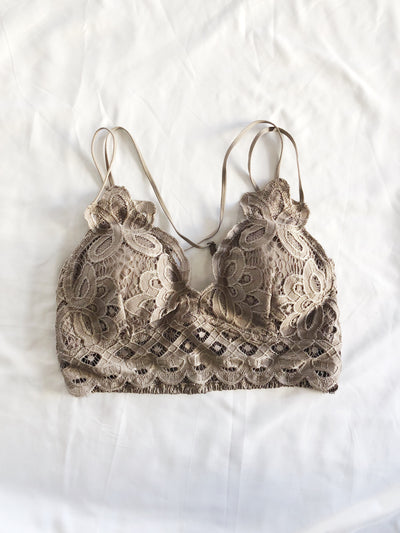 In The Spirit Bralette Mocha