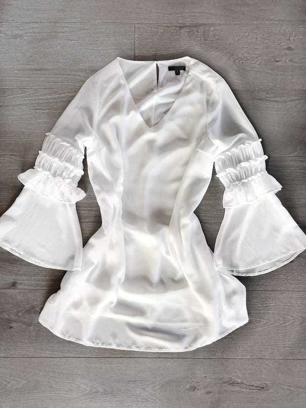 Sway With Me Dress White