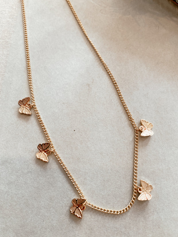 Give Me Butterflies Necklace