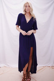 Absolutely Everything Romper Navy - Shellsea