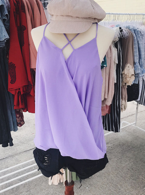 After Hours Top Lavender
