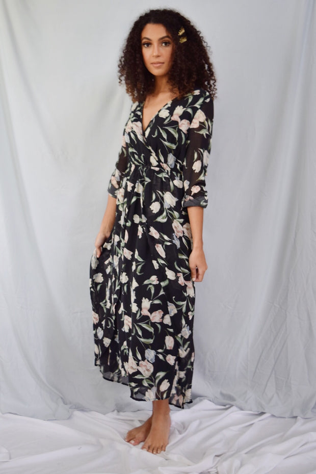 You And Me Forever Maxi Dress Black