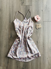 Steal The Show Floral Dress Lavender