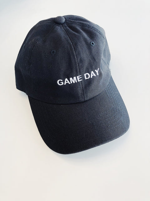 """Game Day"" Cap Black - Shellsea"