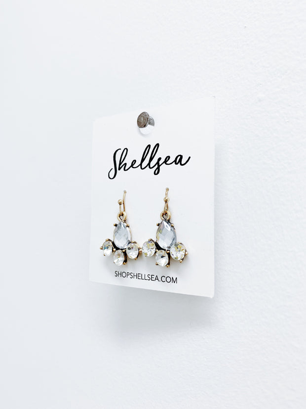 Beaded Statement Earrings - Shellsea