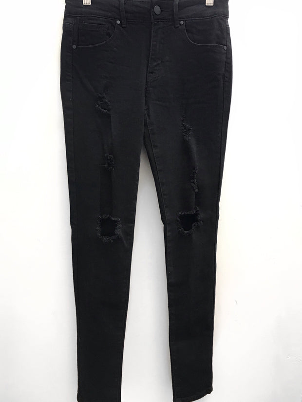 Stressed Out Jeans Black