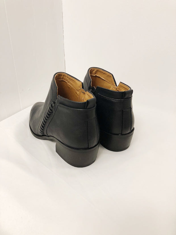 Walks For Me Booties Black
