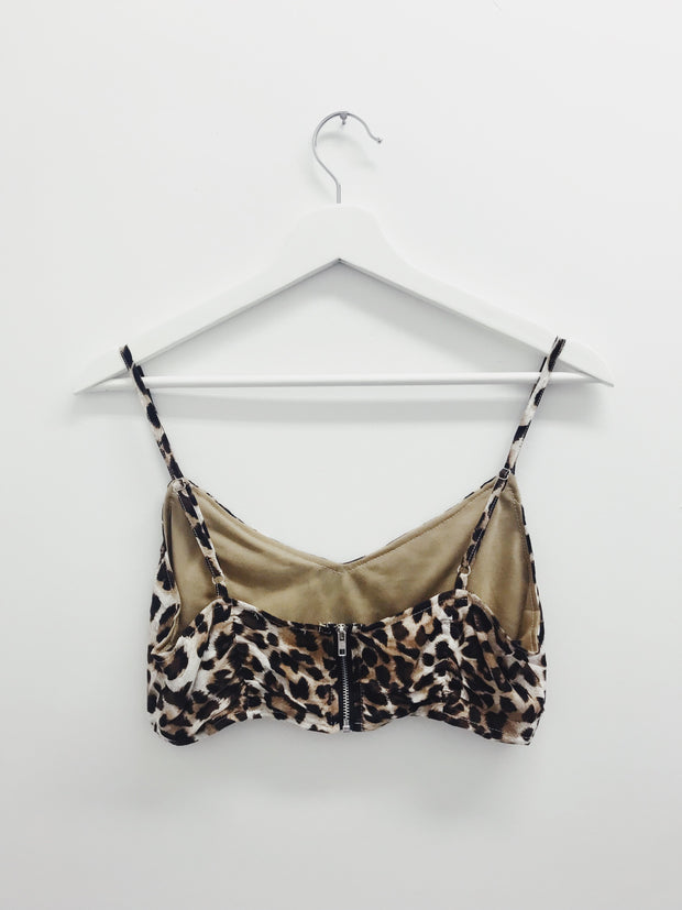 It's A Jungle Out There Bralette - Shellsea