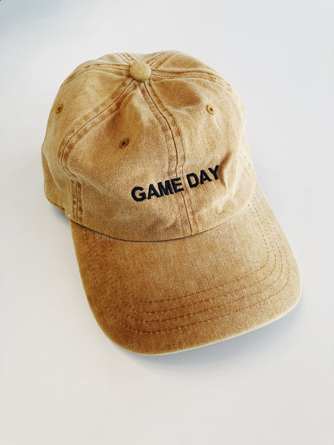 """Game Day"" Cap Mustard - Shellsea"
