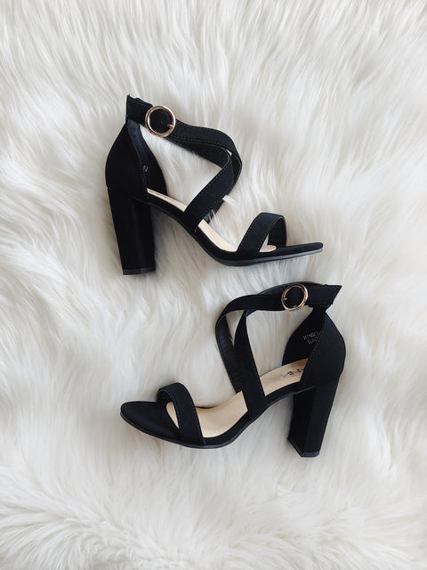 Simply Sophisticated Heels Black