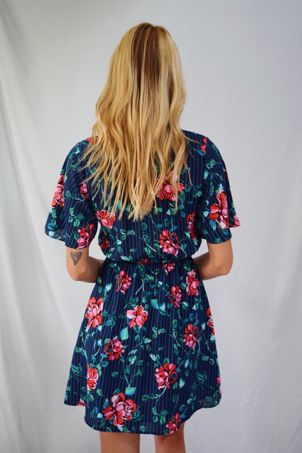 Summertime Happiness Floral Dress