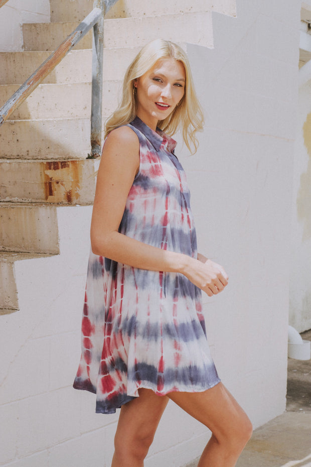 Easily Breezy Tie Dye Tunic