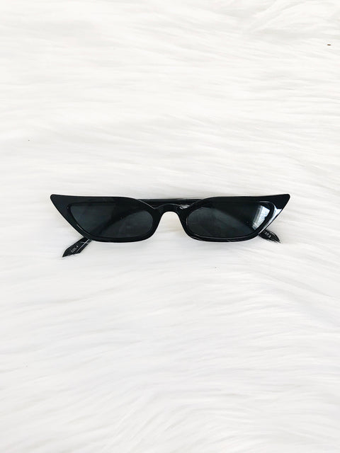 Vintage Take Sunnies Black - Shellsea