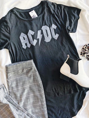 AC/DC Graphic Tee - Shellsea