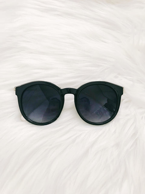 Desert Sun Sunglasses Black