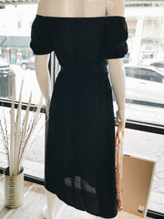 Day After Day Midi Dress Black - Shellsea