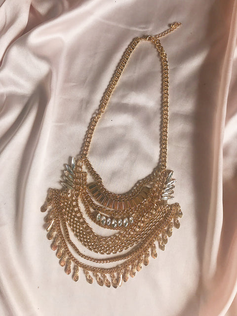 Ready For It Necklace Gold