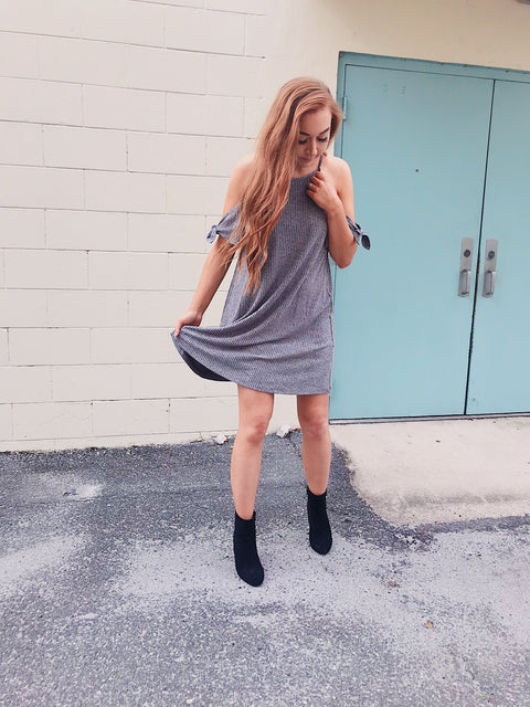Sweet Nothings Dress Grey