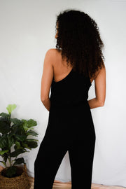 I'm Coming Back Jumpsuit Black