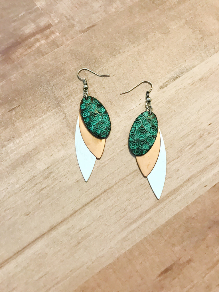 Three Day Weekend Earrings - Shellsea