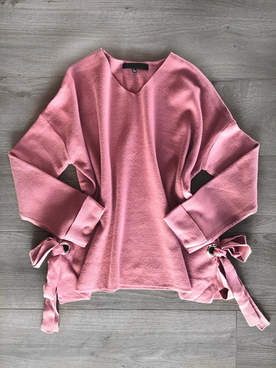 You And Me Sweater Blush