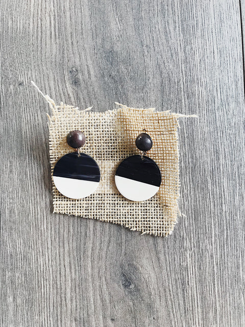 Geo Dip Earrings - Shellsea