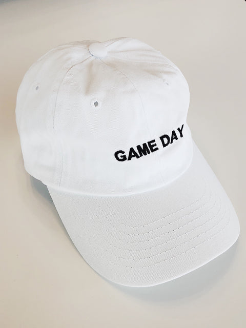 """Game Day"" Cap White - Shellsea"