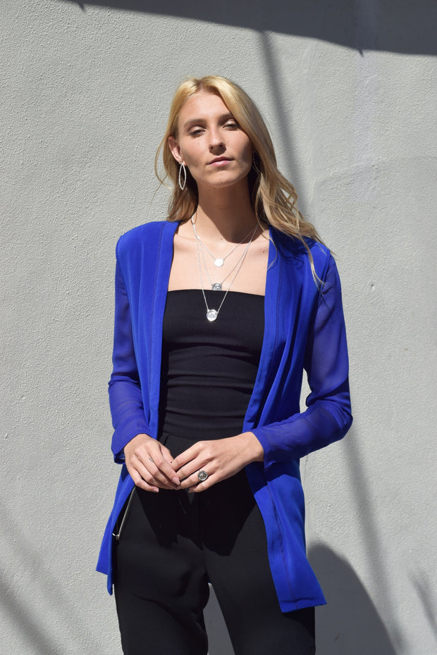 Chill Fighter Blazer Royal Blue - Shellsea