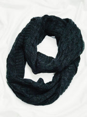 Wrapped And Ready Scarf Black