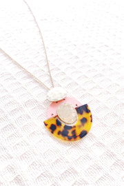 Well Loved Acetate Pink Necklace