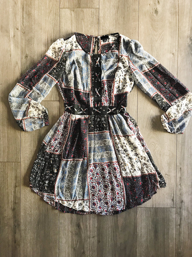 Quite The Patch Dress