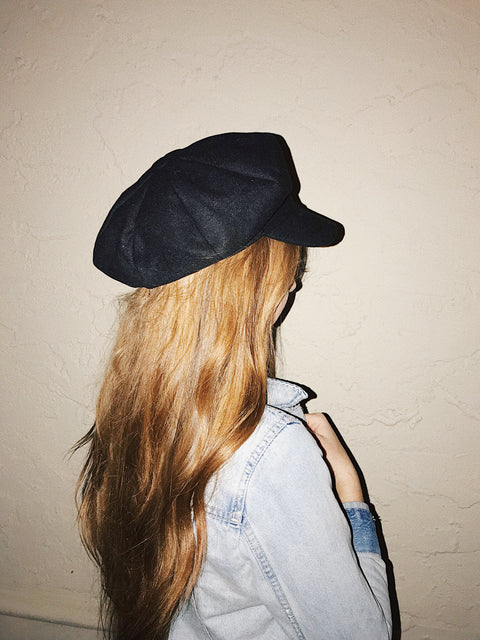 Boss Girl Cabby Hat Black - Shellsea