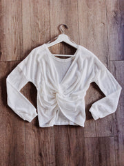 Twist And Shout Top White