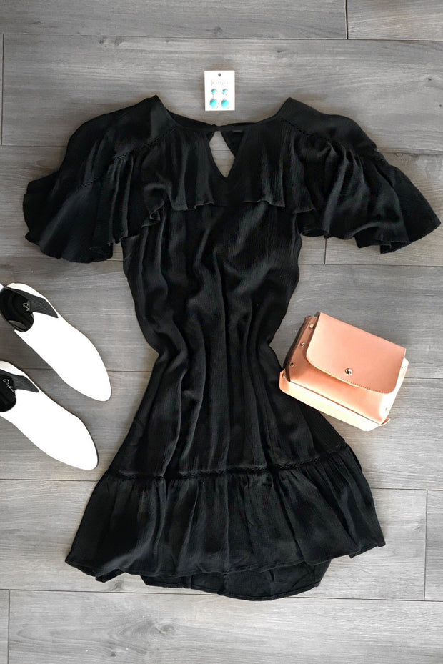 All For You Dress Black - Shellsea