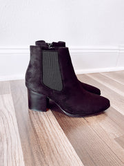 On The Move Booties Black
